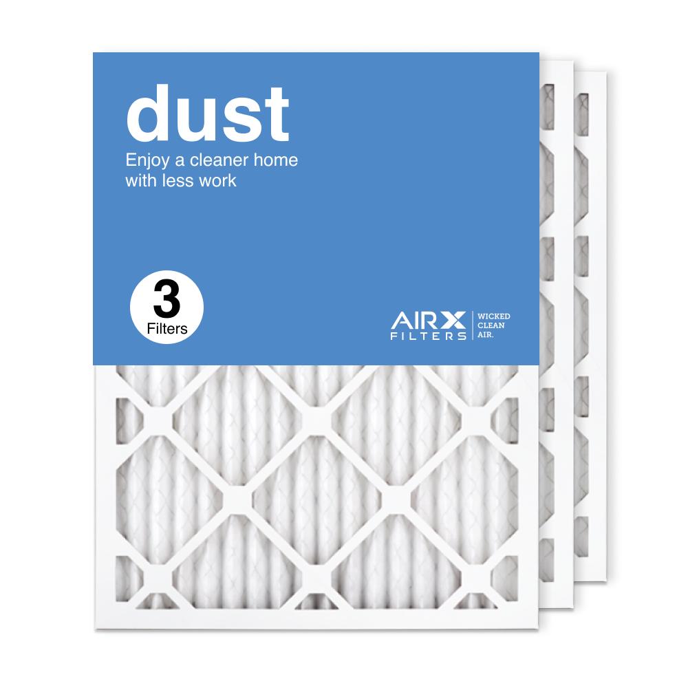 16.375x21.5x1 AIRx DUST Air Filter, 3-Pack