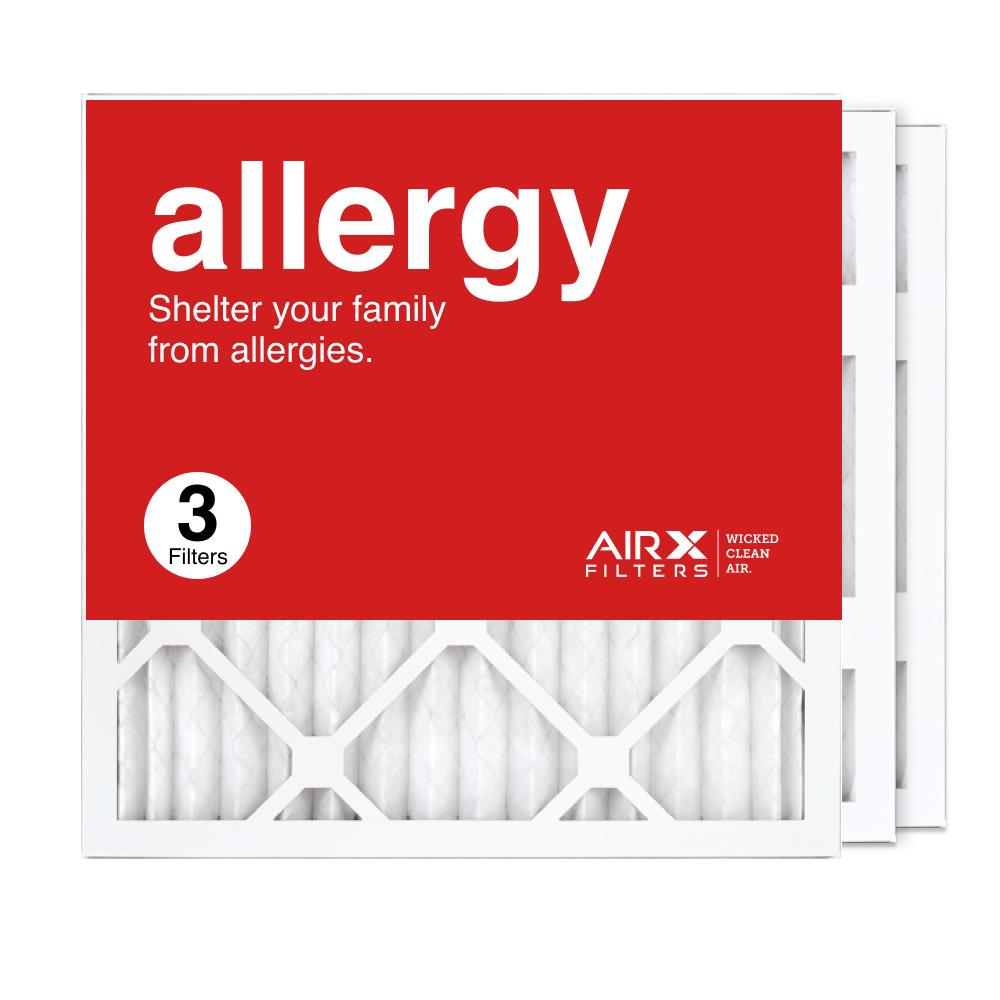 16x16x1 AIRx ALLERGY Air Filter, 3-Pack