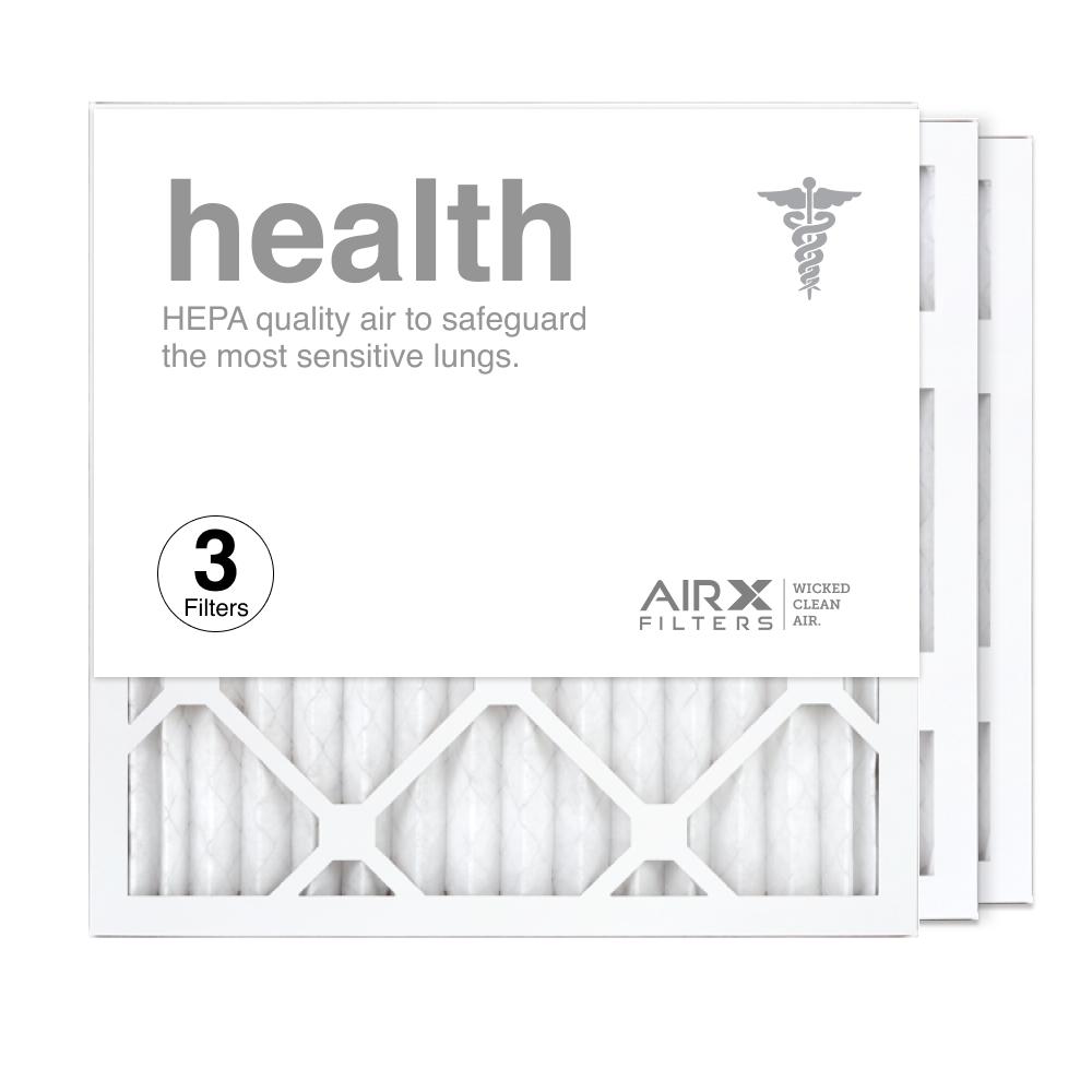 16x16x1 AIRx HEALTH Air Filter, 3-Pack