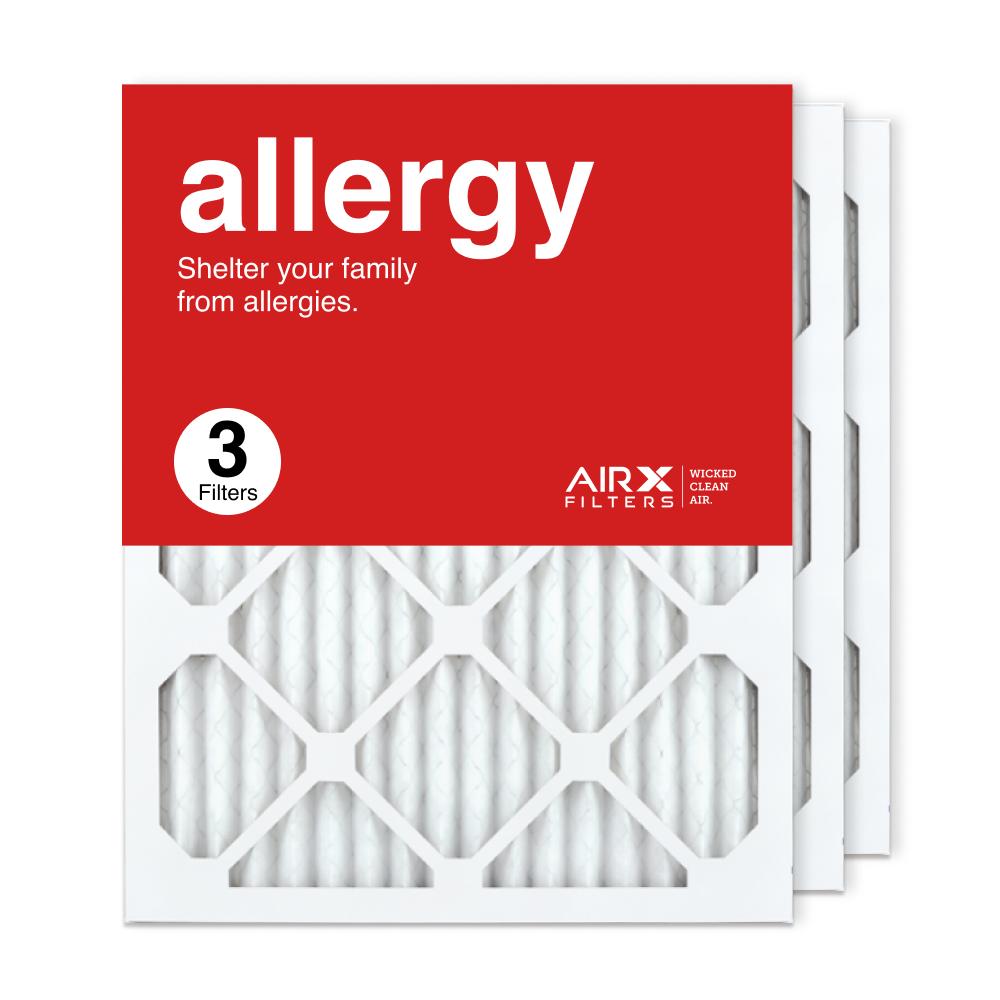 16x20x1 AIRx ALLERGY Air Filter, 3-Pack