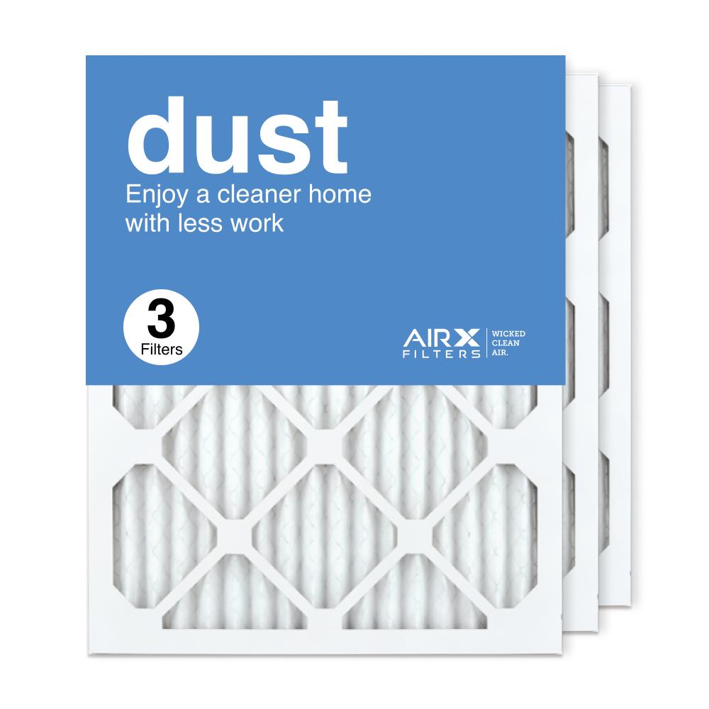16x20x1 AIRx DUST Air Filter, 3-Pack