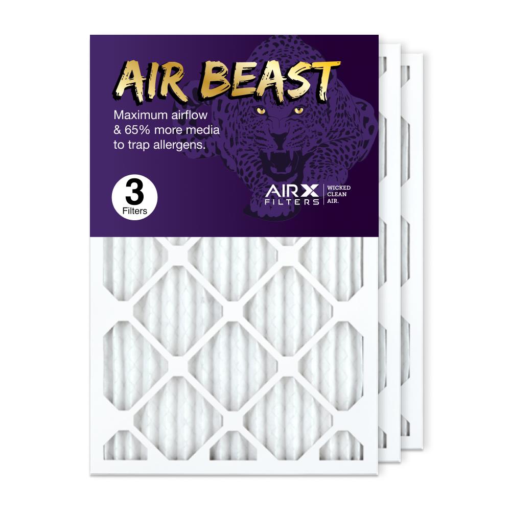 16x25x1 AIRx Air Beast High Flow Air Filter, 3-Pack