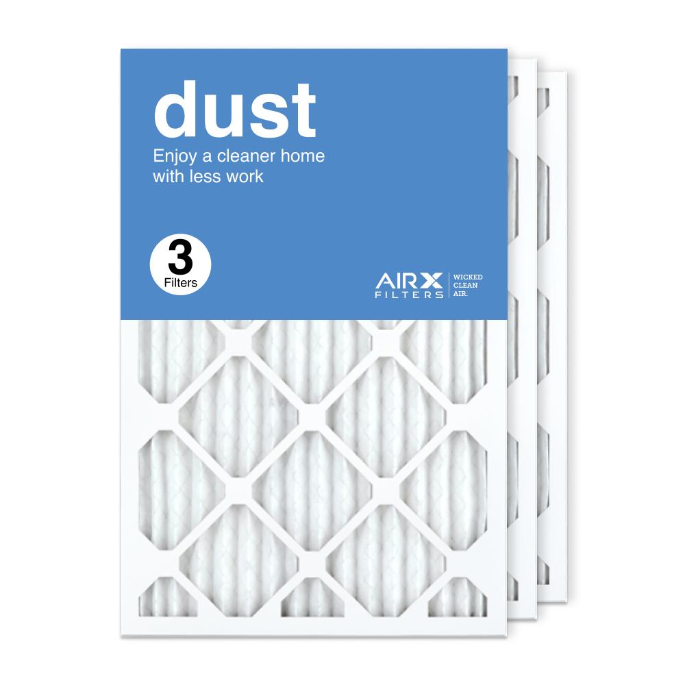 16x25x1 AIRx DUST Air Filter, 3-Pack