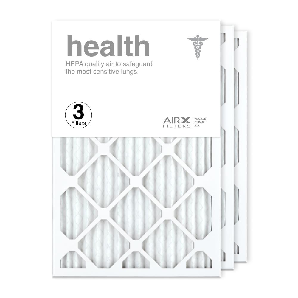16x25x1 AIRx HEALTH Air Filter, 3-Pack