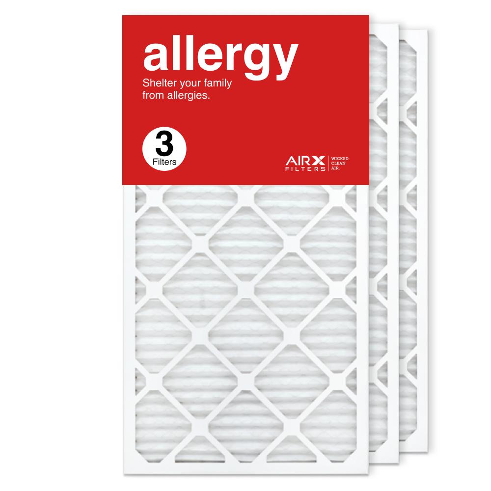 16x30x1 AIRx ALLERGY Air Filter, 3-Pack