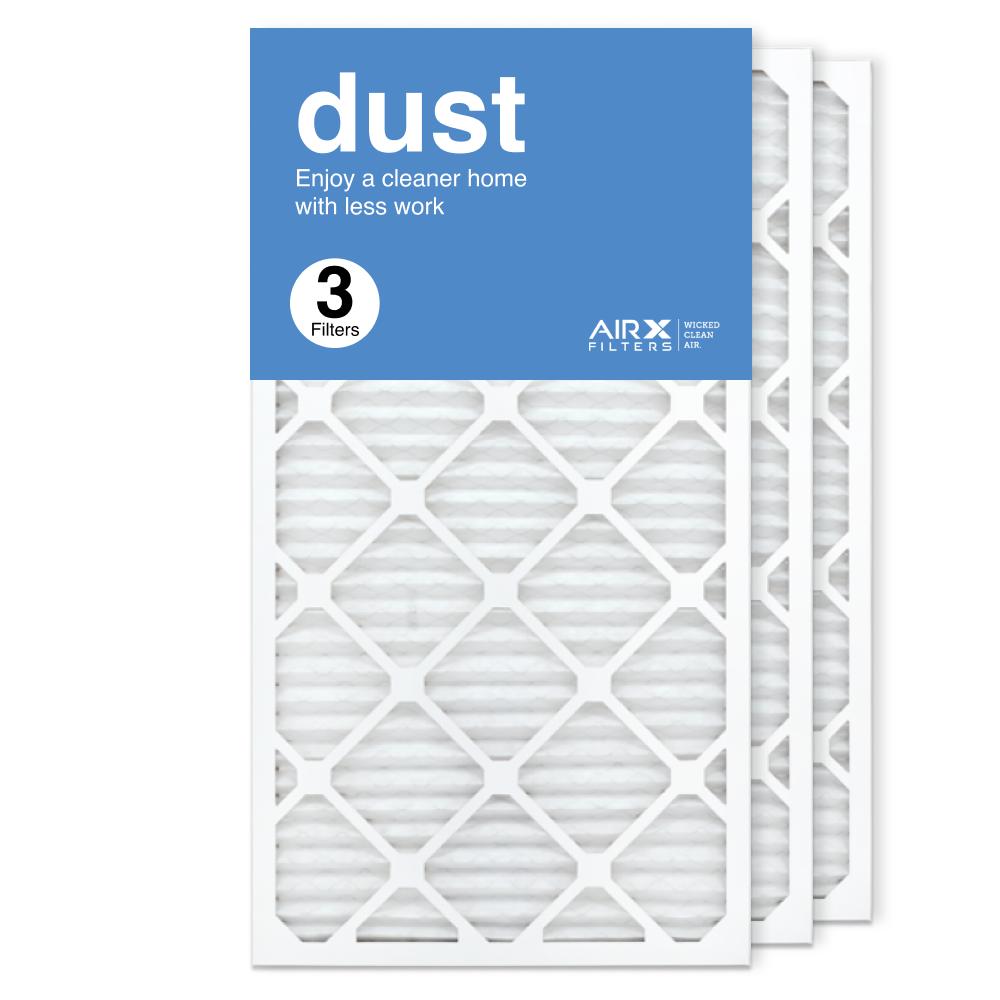 16x30x1 AIRx DUST Air Filter, 3-Pack
