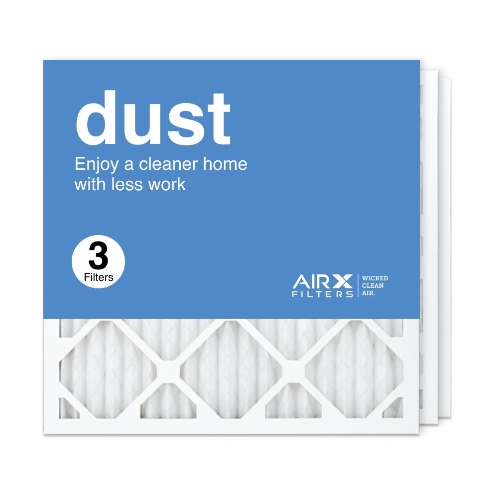 18x18x1 AIRx DUST Air Filter, 3-Pack