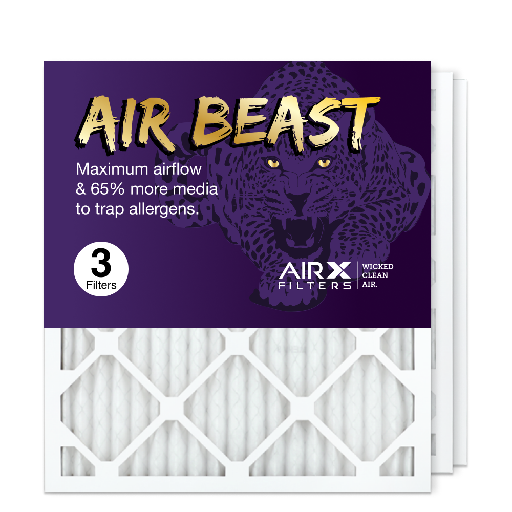 18x20x1 AIRx Air Beast High Flow Air Filter, 3-Pack