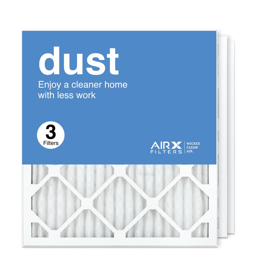 18x20x1 AIRx DUST Air Filter, 3-Pack