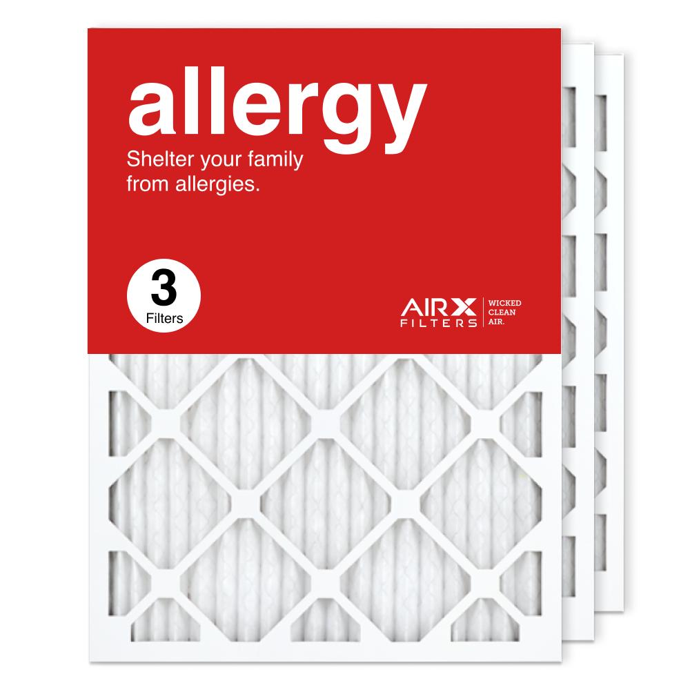 18x24x1 AIRx ALLERGY Air Filter, 3-Pack