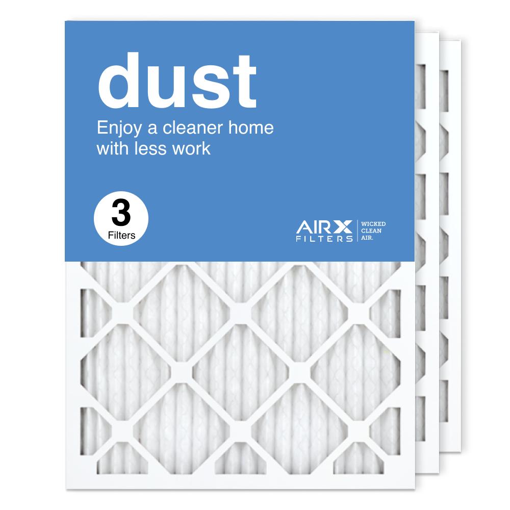 18x24x1 AIRx DUST Air Filter, 3-Pack