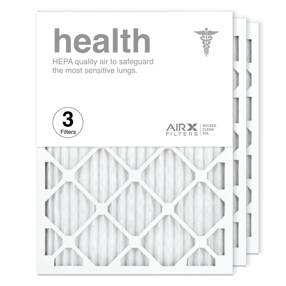 18x24x1 AIRx HEALTH Air Filter, 3-Pack
