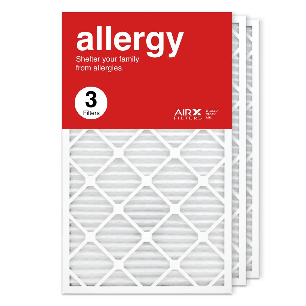 18x30x1 AIRx ALLERGY Air Filter, 3-Pack