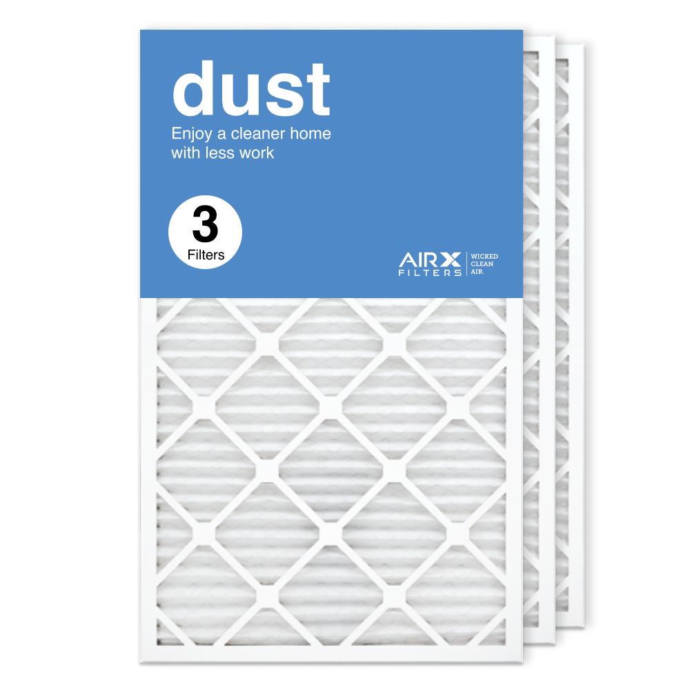 18x30x1 AIRx DUST Air Filter, 3-Pack