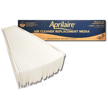 Original Aprilaire #401 Filter For 2400 Air Cleaner