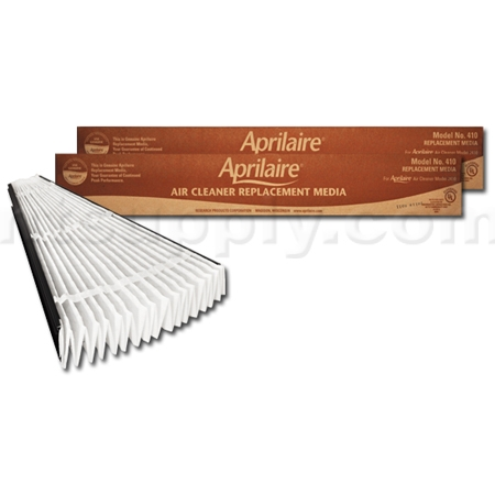 Aprilaire / Space-Gard #410 MERV 11 Replacement Filter, 2-Pack