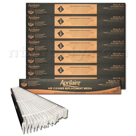 Aprilaire / Space-Gard #413 MERV 13 Replacement Filter - 8 Pack