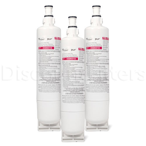 Whirlpool Ultimate Refrigerator Filter - Whirlpool 4396510 Filter (NLC240V), 3-Pack