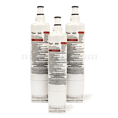 Whirlpool Ultimate Refrigerator Filter (4396510, NLC240V), 3-Pack