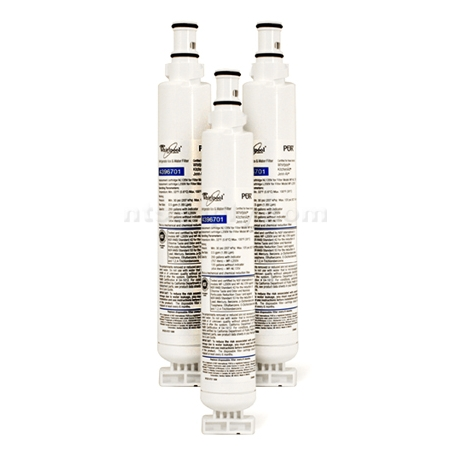 Whirlpool Refrigerator Water Filter (4396701, NL120V), 3-Pack