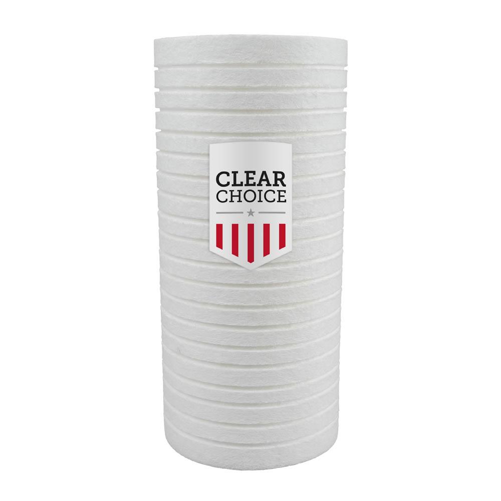 ClearChoice Replacement for Pentek DGD-5005 Dual Gradient Sediment Filter - 5 Micron