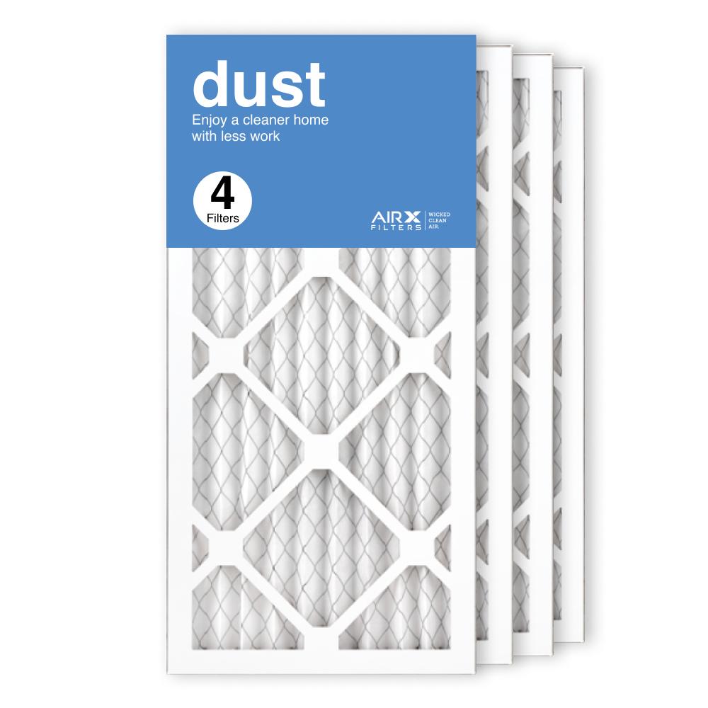 10x20x1 AIRx DUST Air Filter, 4-Pack