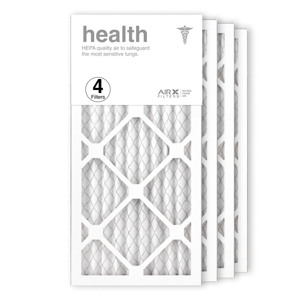 10x20x1 AIRx HEALTH Air Filter, 4-Pack