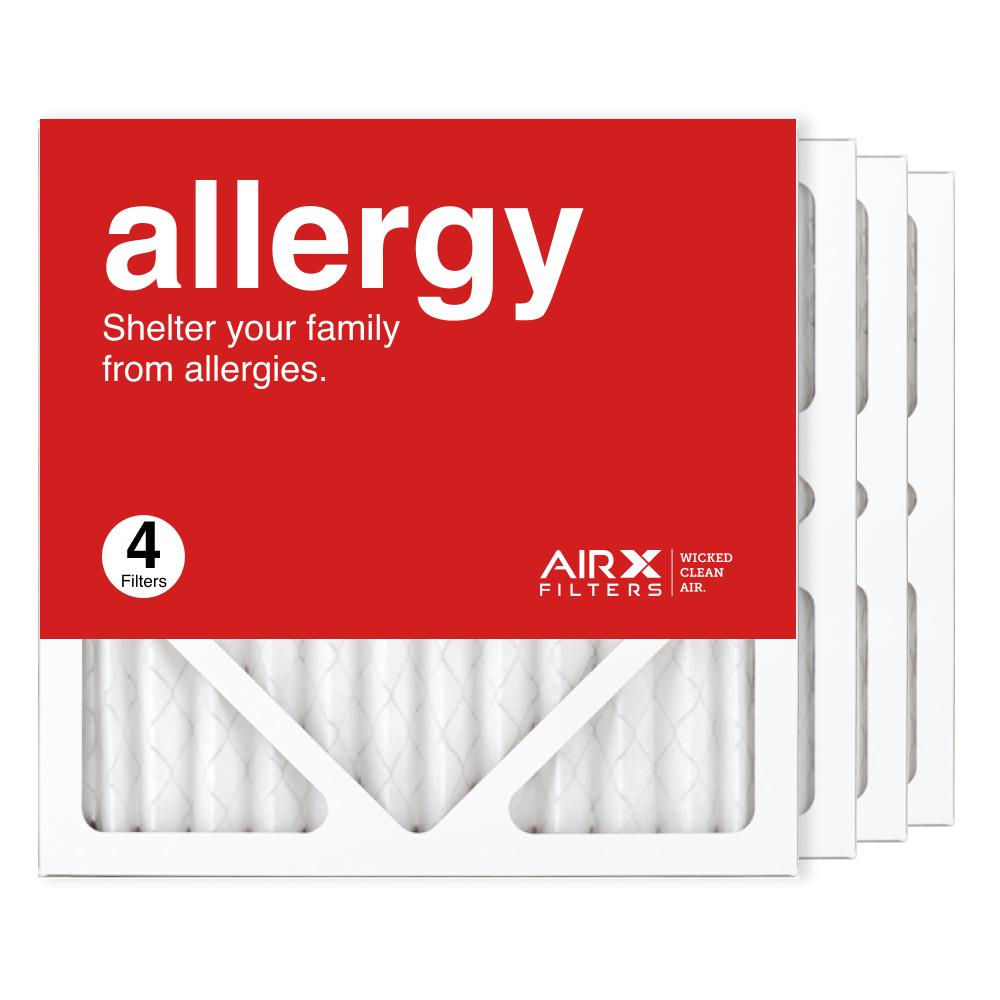 12x12x1 AIRx ALLERGY Air Filter, 4-Pack