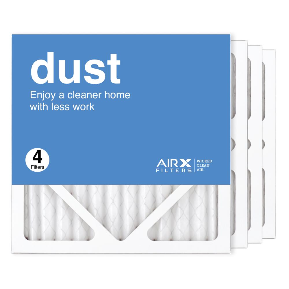 12x12x1 AIRx DUST Air Filter, 4-Pack