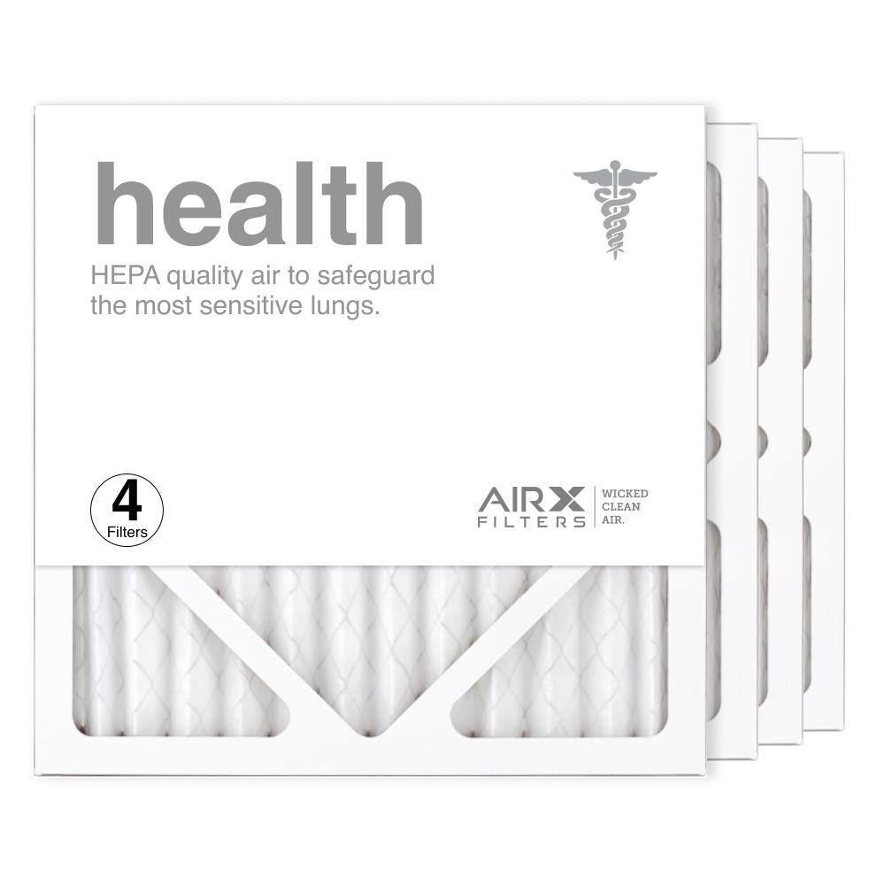 12x12x1 AIRx HEALTH Air Filter, 4-Pack