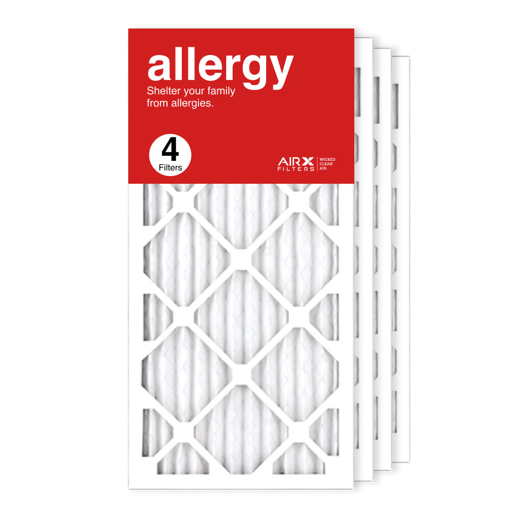 12x24x1 AIRx ALLERGY Air Filter, 4-Pack