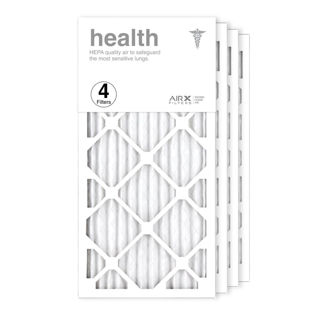 12x24x1 AIRx HEALTH Air Filter, 4-Pack