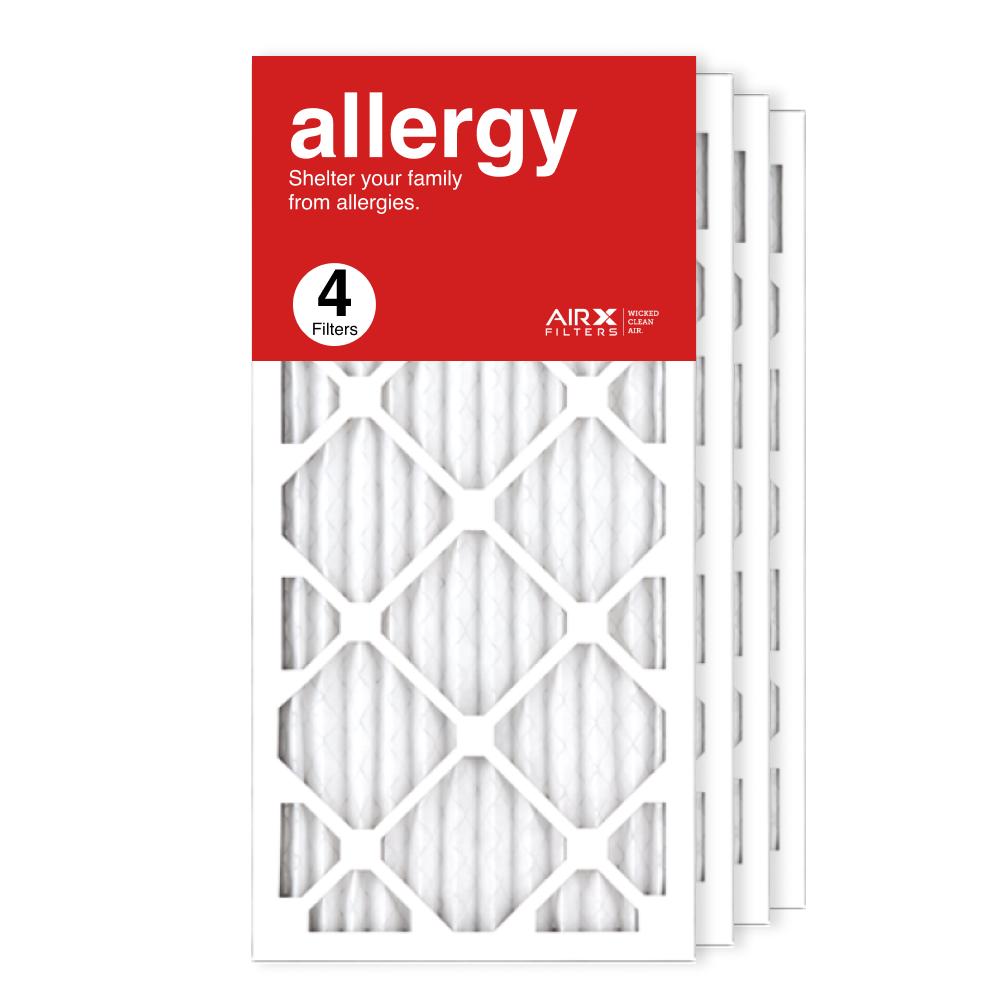 12x25x1 AIRx ALLERGY Air Filter, 4-Pack