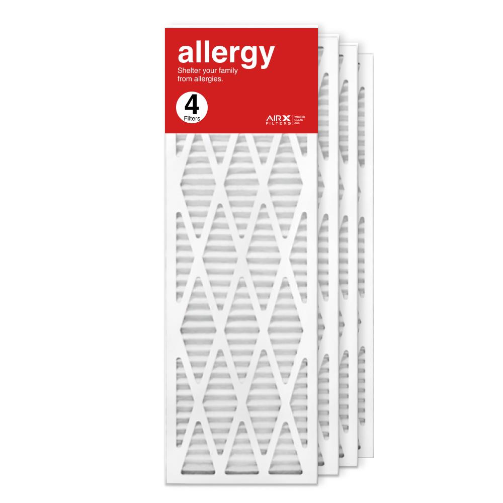 12x36x1 AIRx ALLERGY Air Filter, 4-Pack