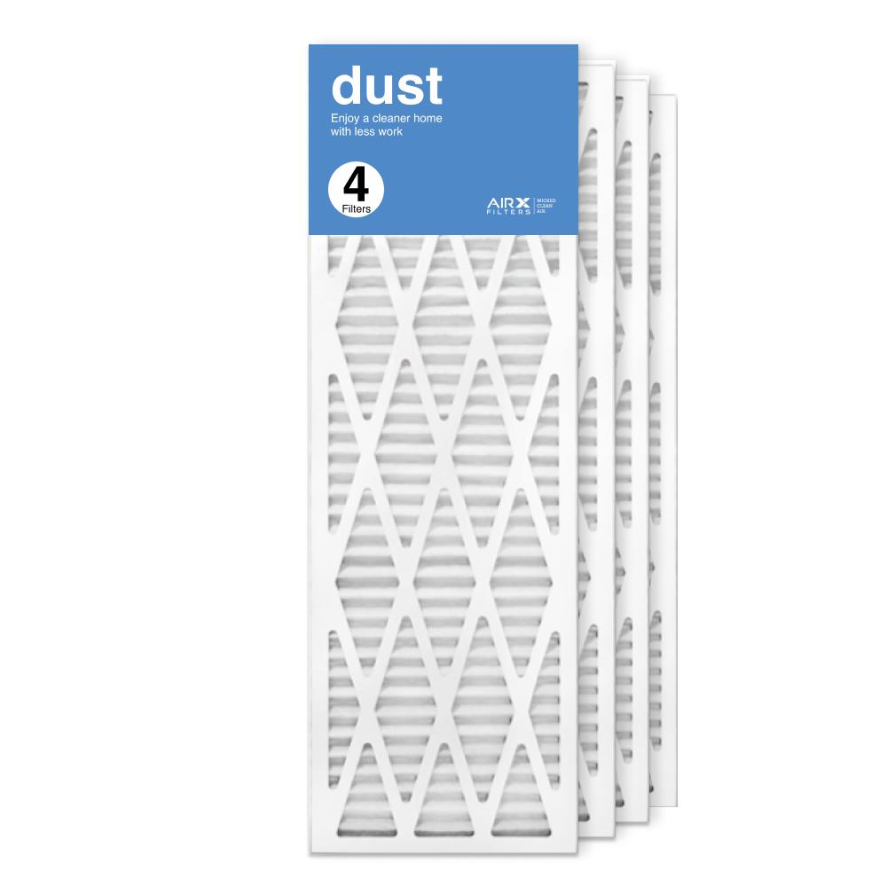 12x36x1 AIRx DUST Air Filter, 4-Pack