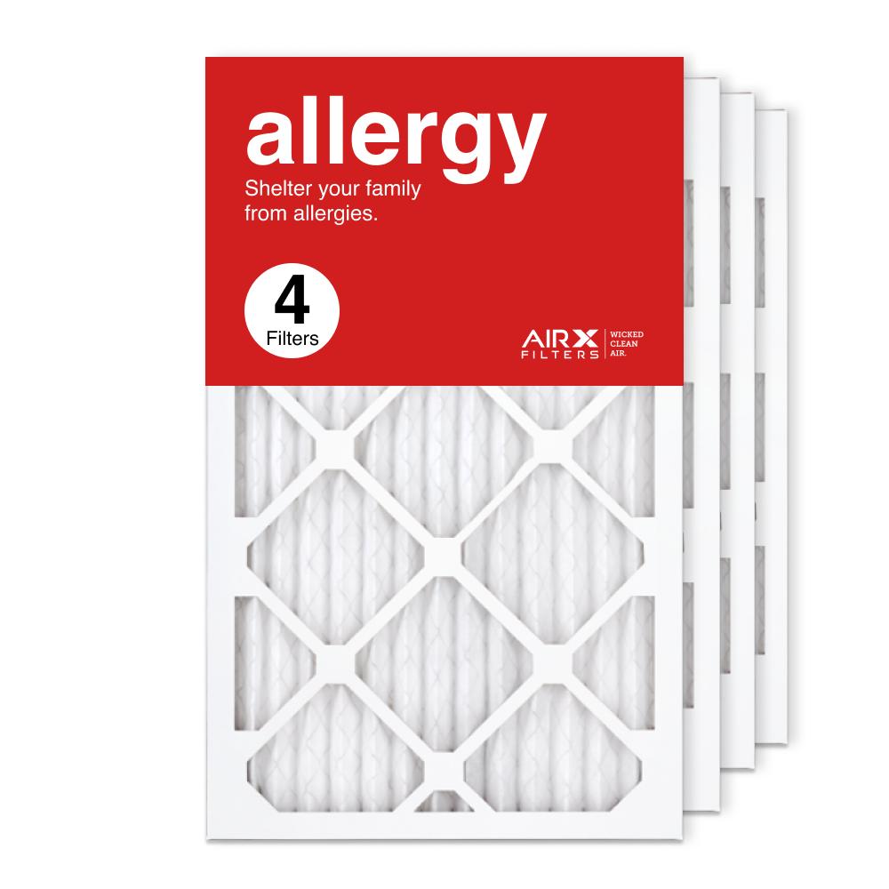 13x21.5x1 AIRx ALLERGY Air Filter, 4-Pack
