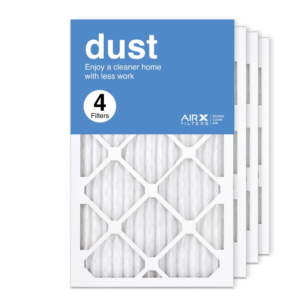 13x21.5x1 AIRx DUST Air Filter, 4-Pack