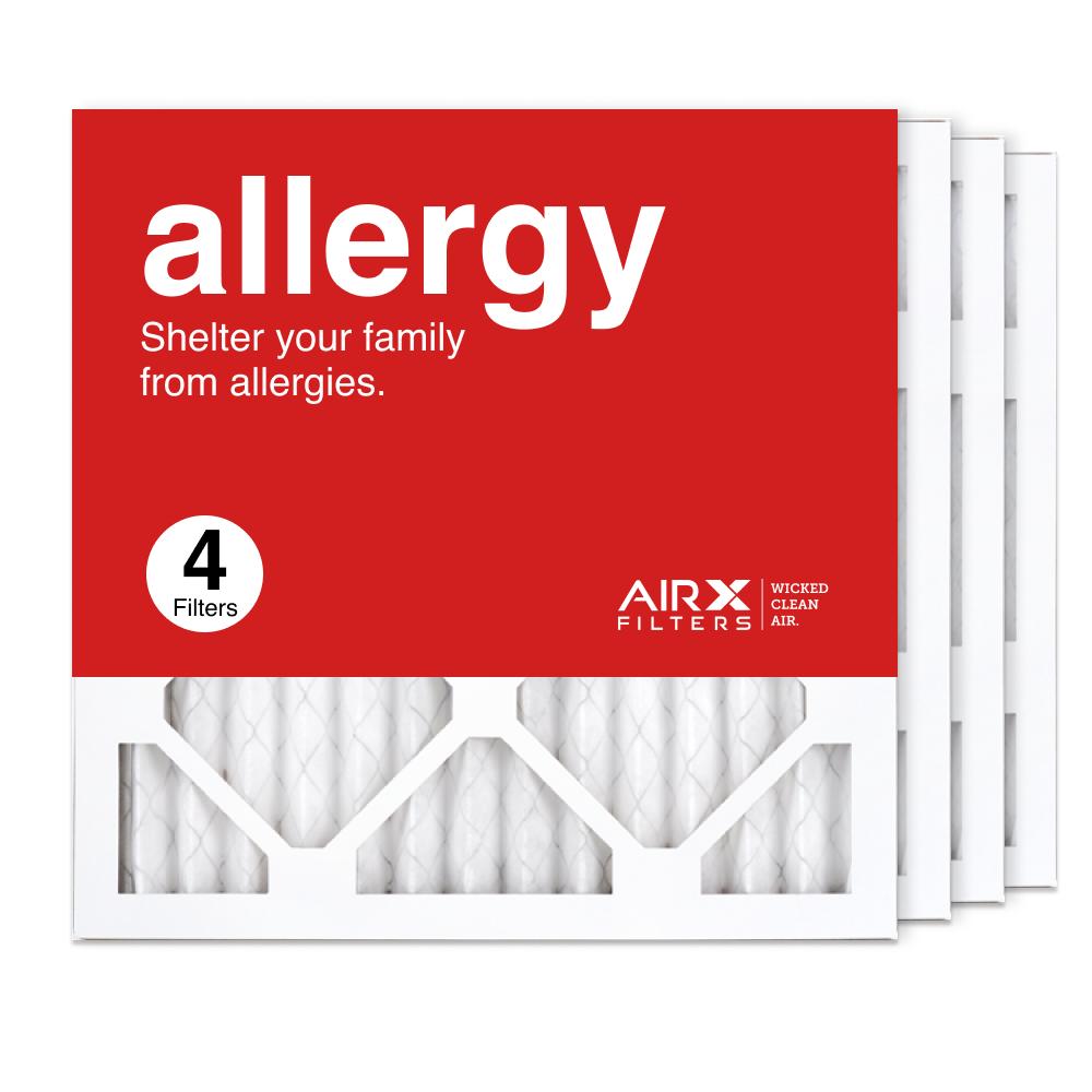 14x14x1 AIRx ALLERGY Air Filter, 4-Pack