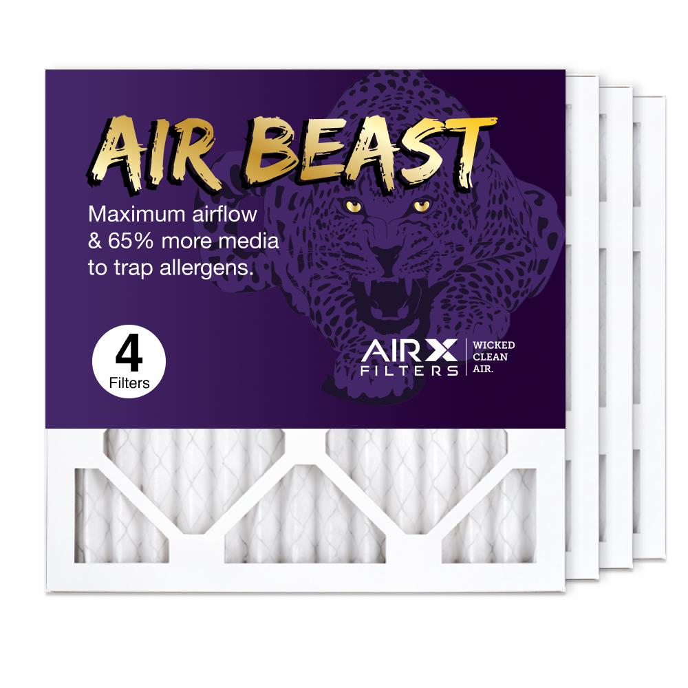14x14x1 AIRx Air Beast High Flow Pleated Air Filter