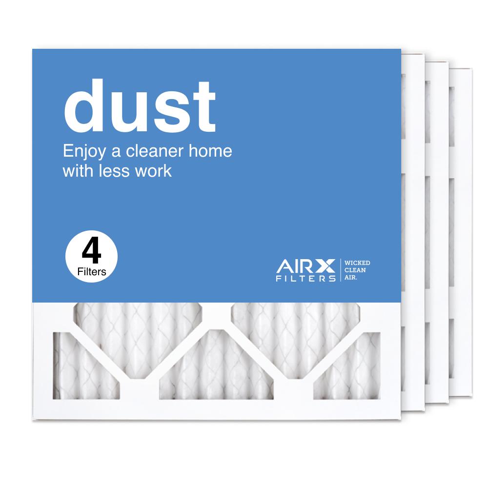 14x14x1 AIRx DUST Air Filter, 4-Pack