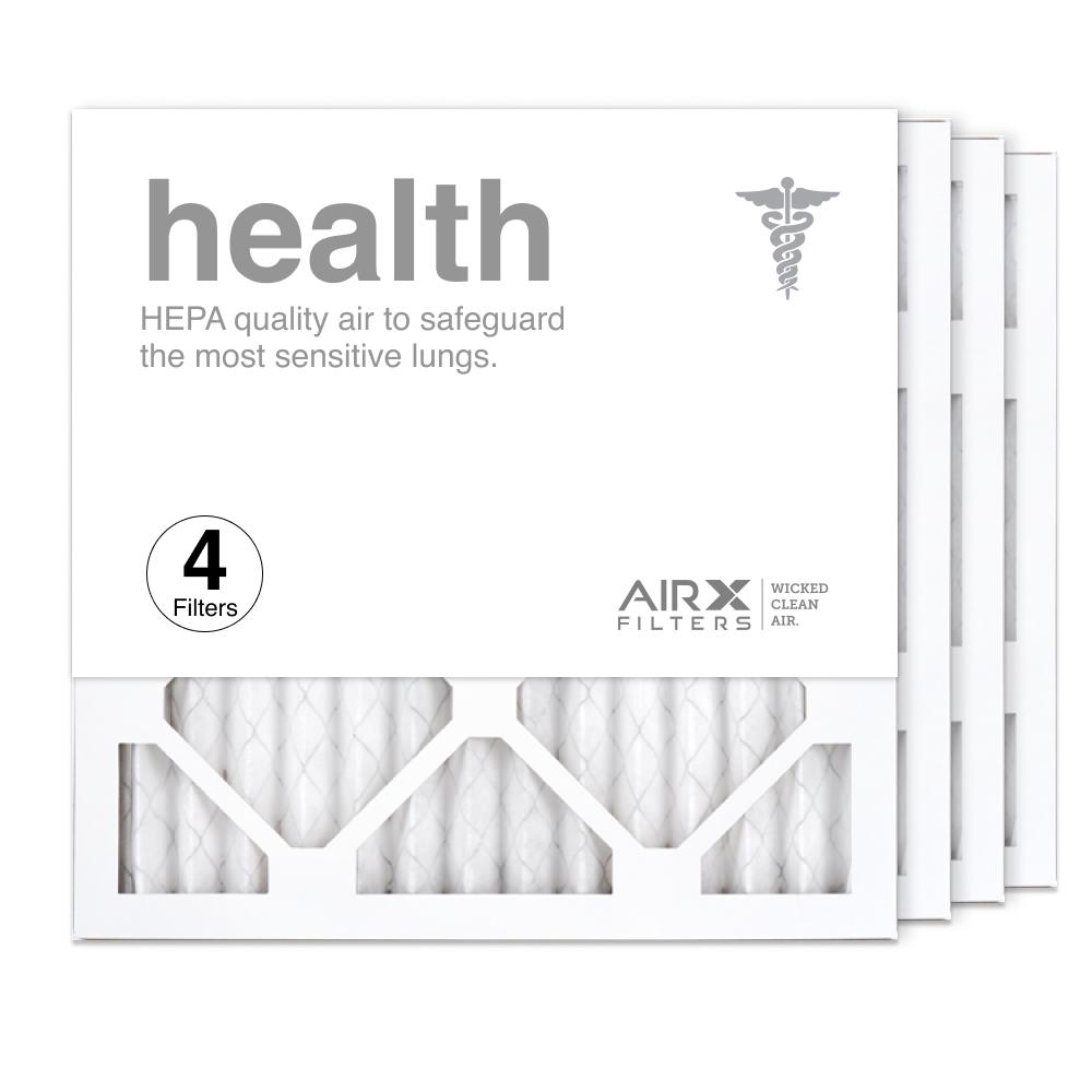 14x14x1 AIRx HEALTH Air Filter, 4-Pack