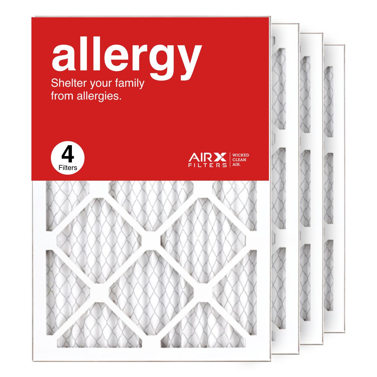 14x20x1 AIRx ALLERGY Air Filter, 4-Pack