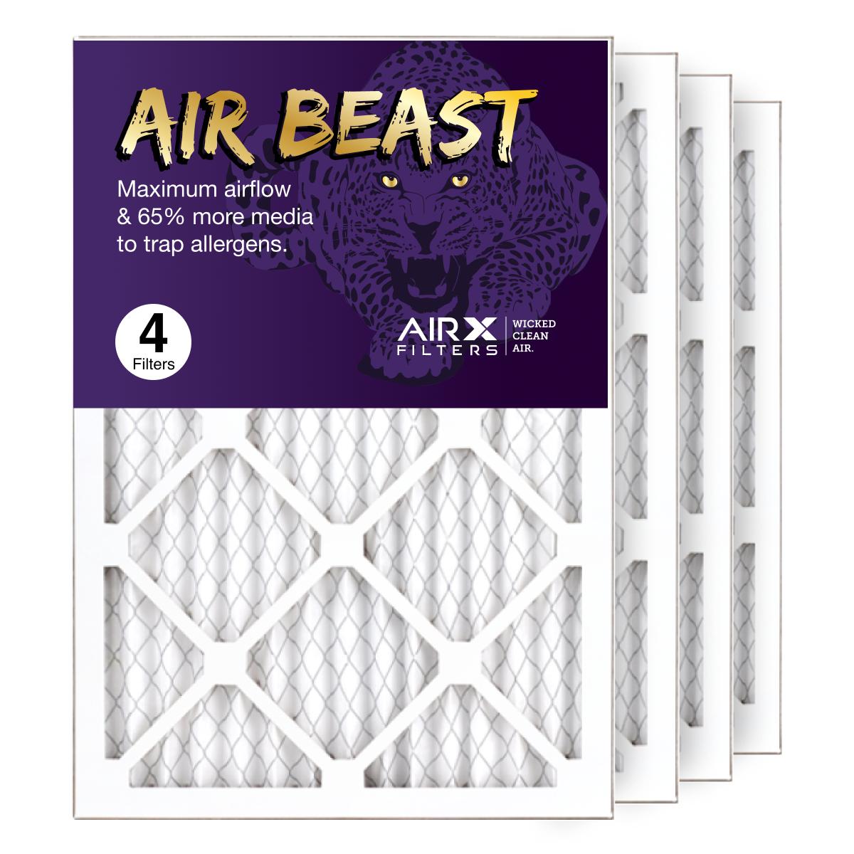 14x20x1 AIRx Air Beast High Flow Pleated Air Filter