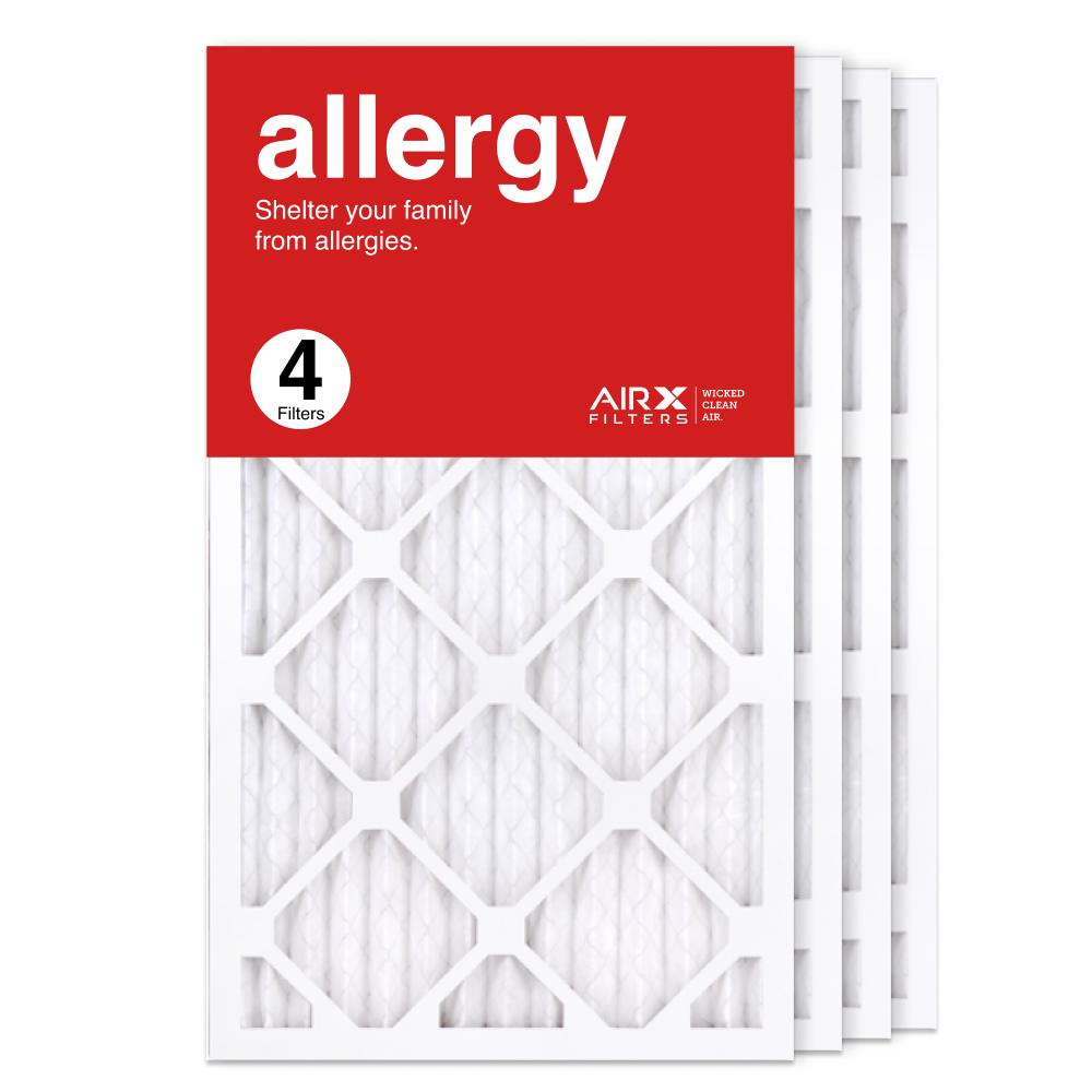 14x25x1 AIRx ALLERGY Air Filter, 4-Pack