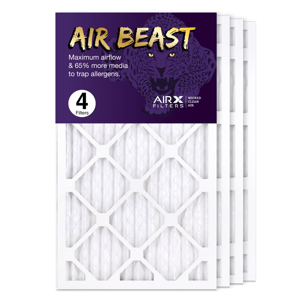14x25x1 AIRx Air Beast High Flow Pleated Air Filter