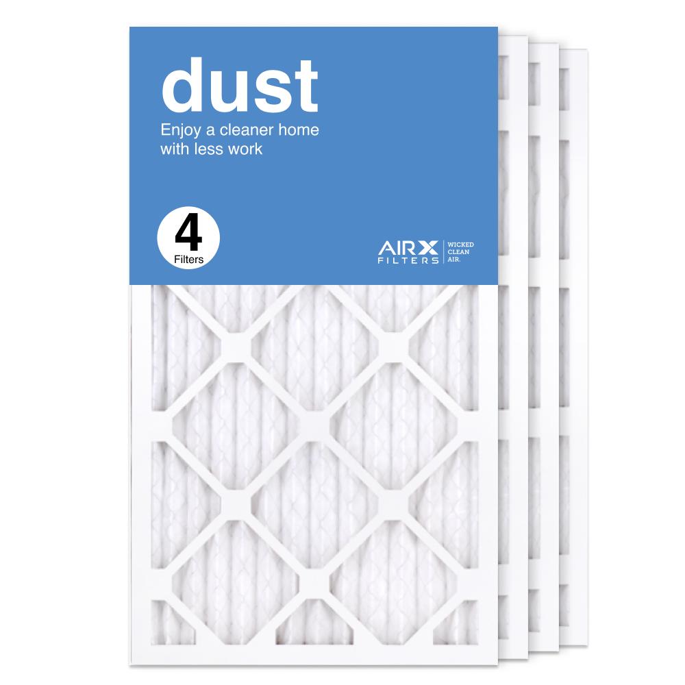 14x25x1 AIRx DUST Air Filter, 4-Pack