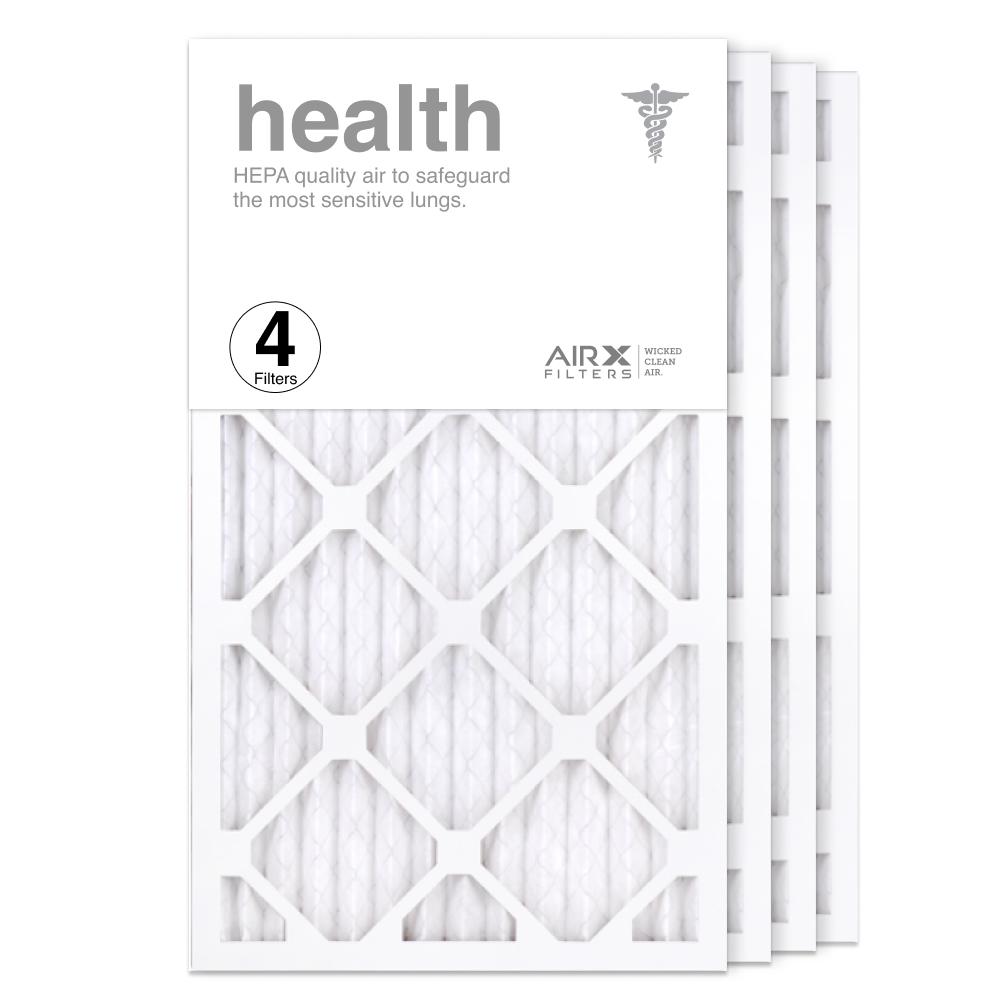 14x25x1 AIRx HEALTH Air Filter, 4-Pack