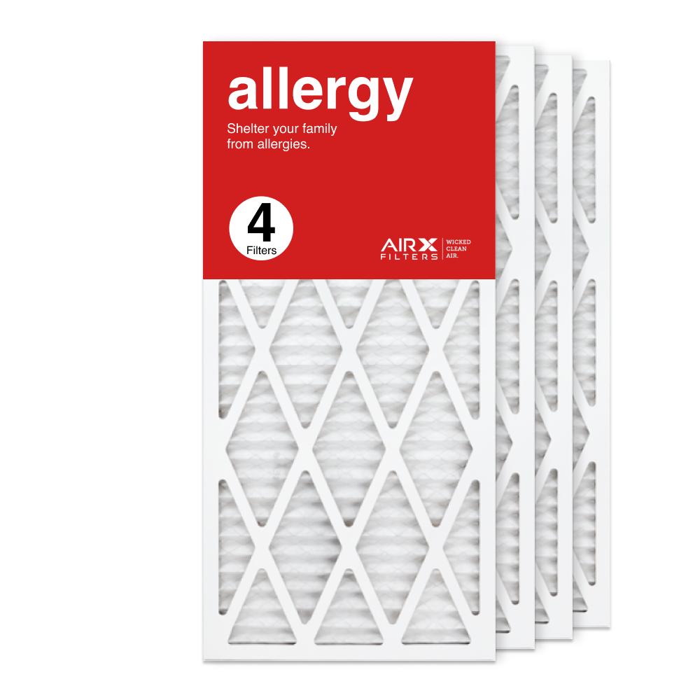 14x30x1 AIRx ALLERGY Air Filter, 4-Pack