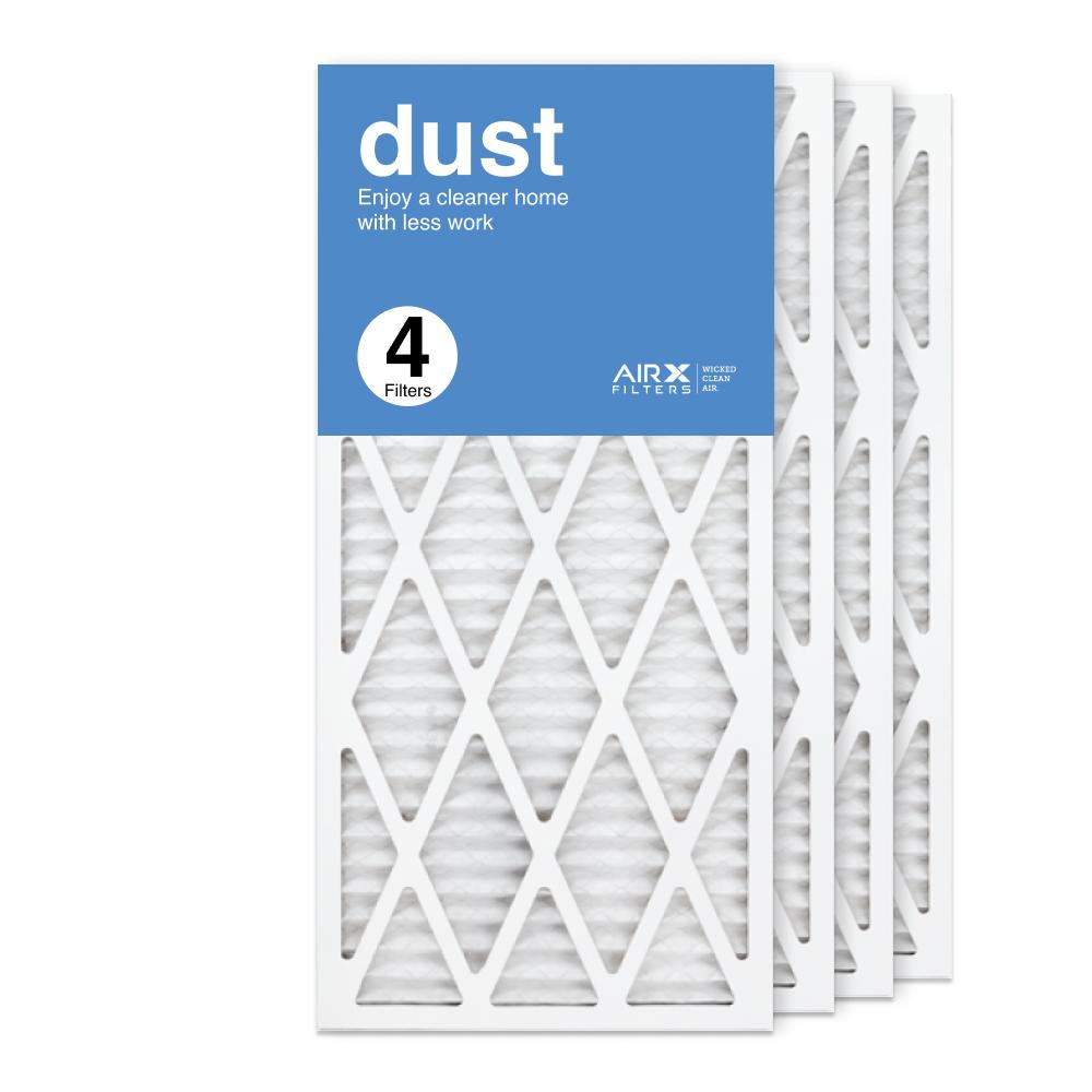 14x30x1 AIRx DUST Air Filter, 4-Pack
