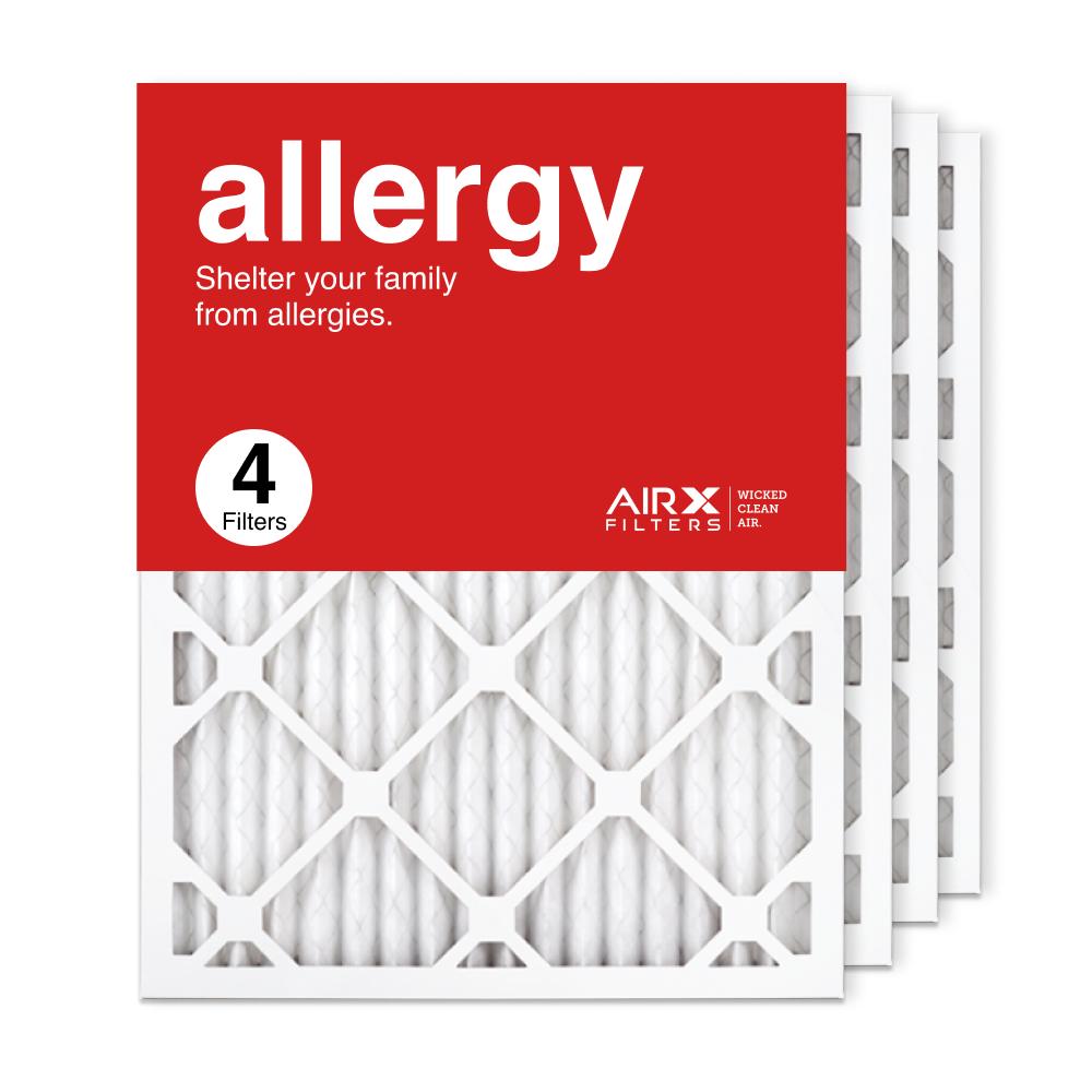 16.375x21.5x1 AIRx ALLERGY Air Filter, 4-Pack